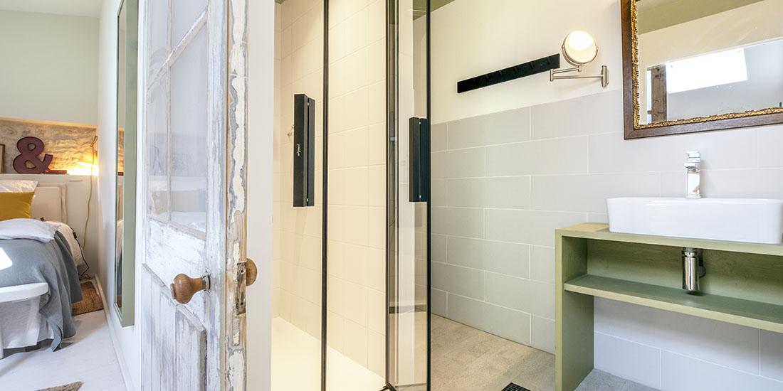 Suite Marie, salle de bain et douche à l'italienne