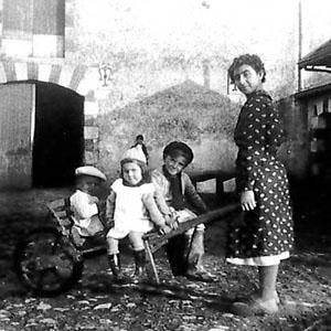 Ancienne photo famille Le Pas des Eaux à Angoulins