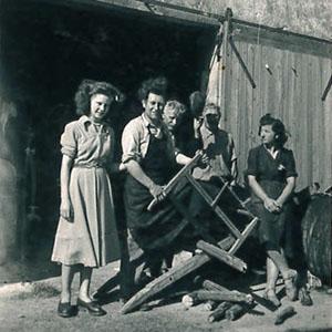 Ancienne photo grange Le Pas des Eaux à Angoulins