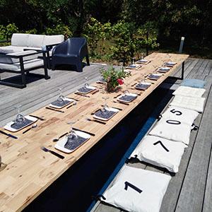 Table dressé
